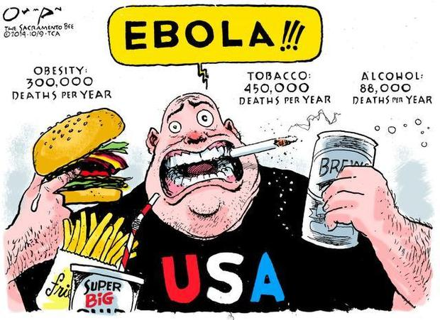 Cartoon via The Sacramento Bee